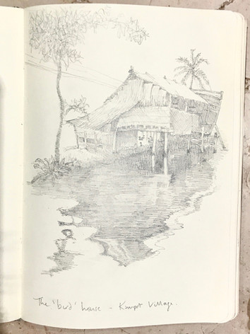 The Bird House - Kampot village
