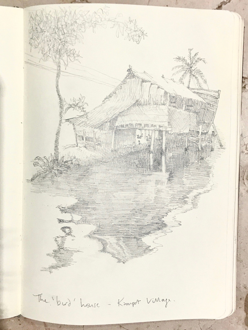 The Bird House, Kampot.