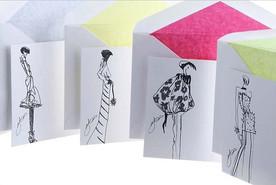 giles deacon cards for Smythson