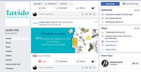 FB Post for Lavido