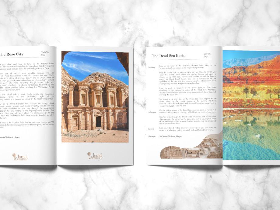 Israel Seminar Travel Itinerary