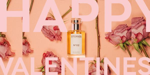 Valentines perfume FB ad