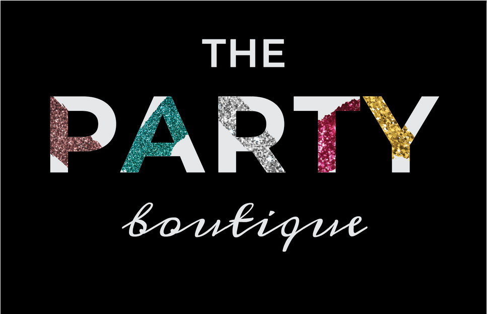 The Party Boutique Branding