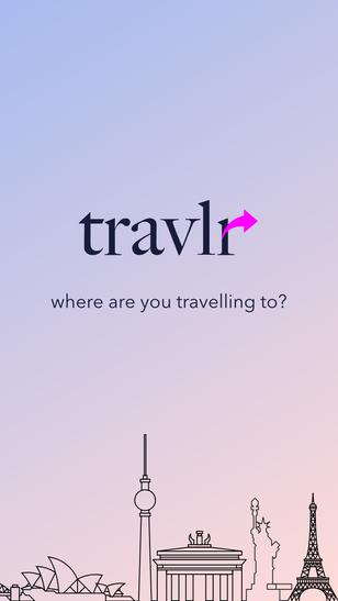 Travalr App Branding