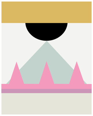 Geomatric Poster