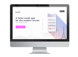 Site Bannerr for Travlr App
