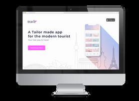 Site Bannerr for Travlr App
