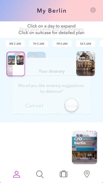 Travlr App UI Prototype Video