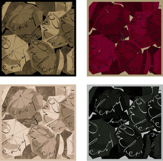 Textile Design for Burberry