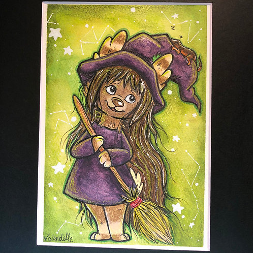 "Matted Original ""Witch Pup"""