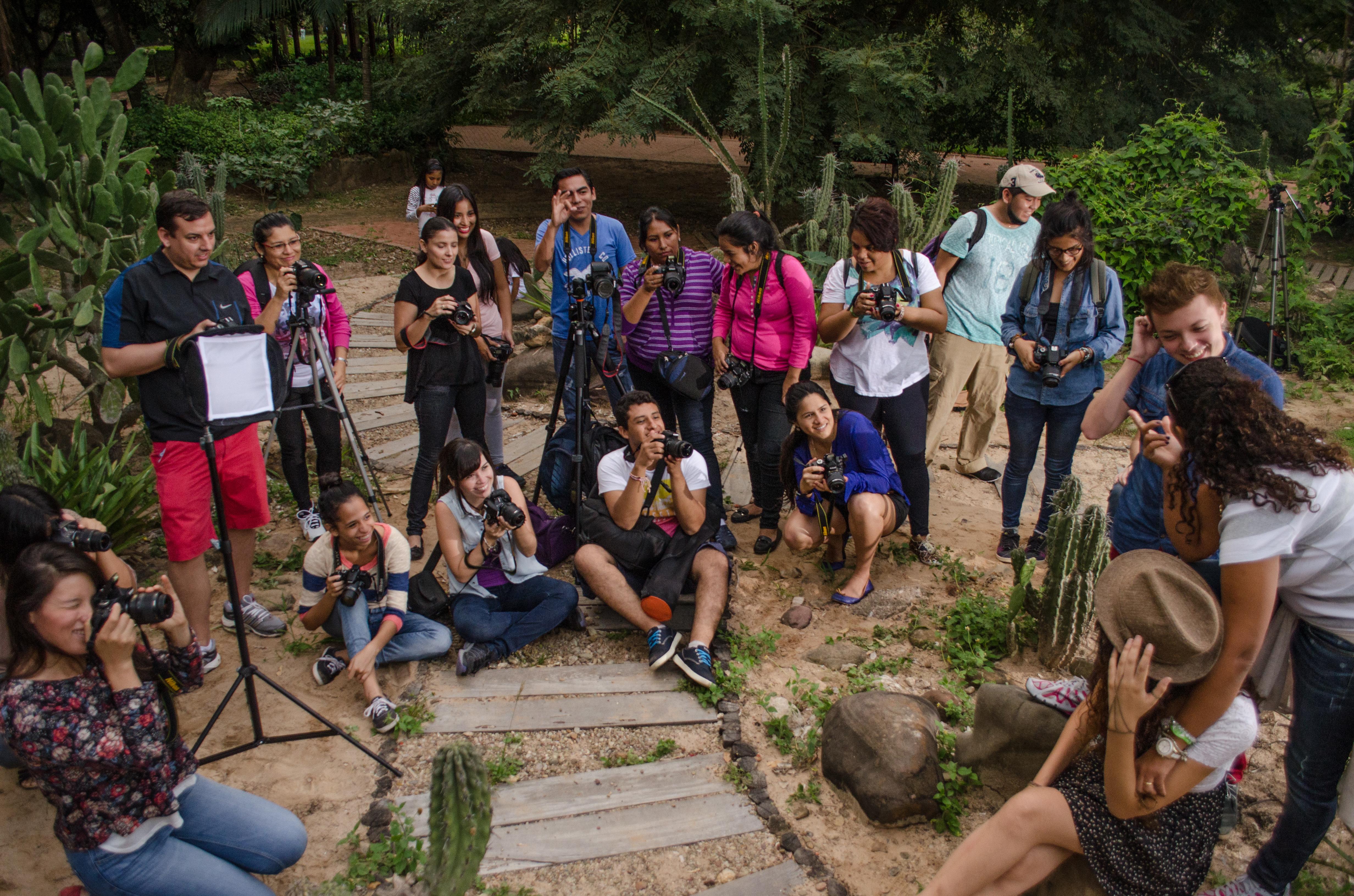 Práctica fotográfica Jardín Botánico