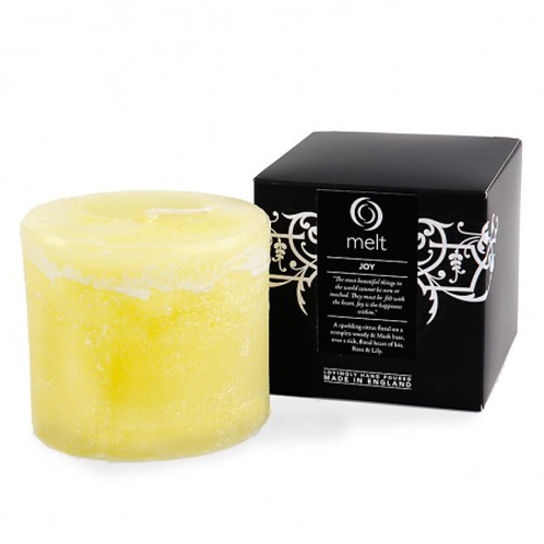 Joy - Short & Fat - Scented Candle