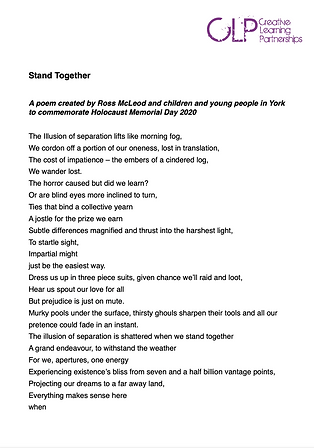 Stand Together_ HMD2020 poem