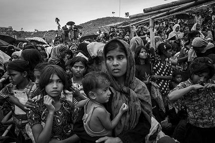 Rohingya Refugees 2017 (Credit: UNHCR)