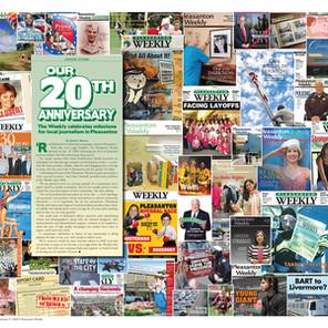 Pleasanton 20th Anniversary Collage
