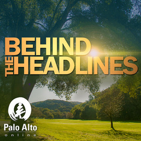 Behind The Headlines Logo Design