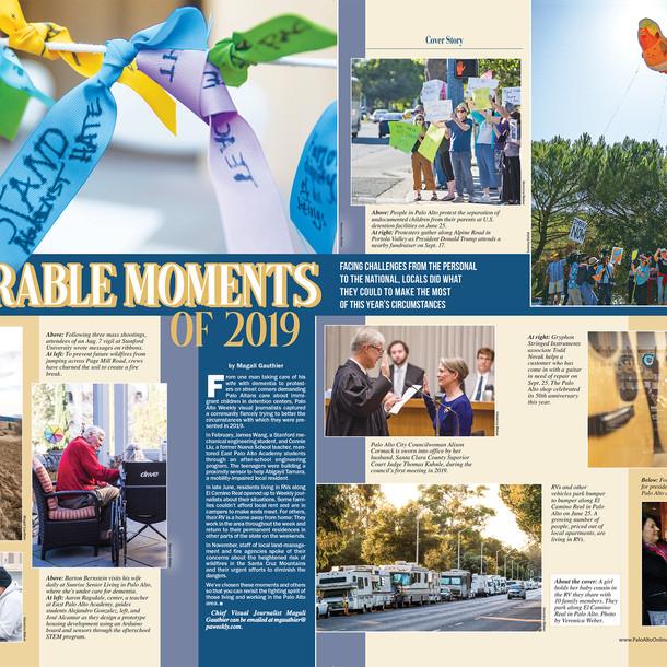 Memorable Moments Spread