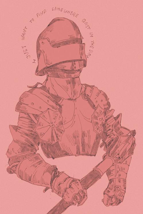 """Tender Knight"" Print"