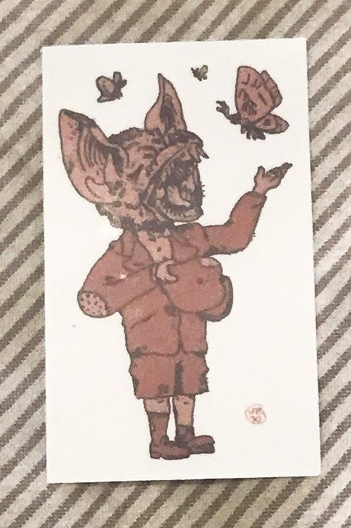 """""""Bat Boy Sings"""" Sticker"""