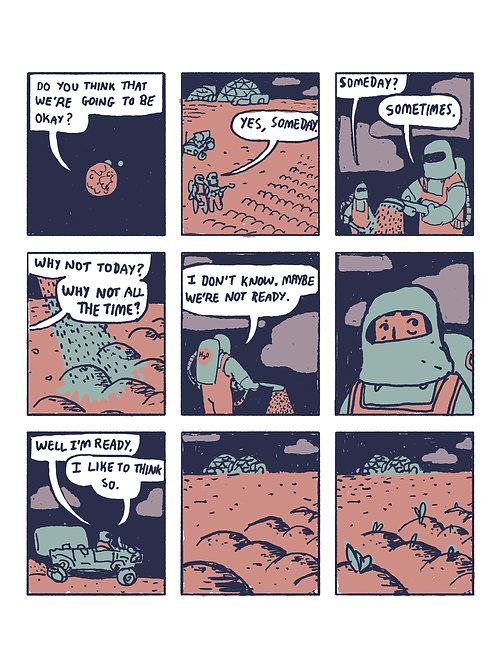 """Diary Comic 199"" Print"