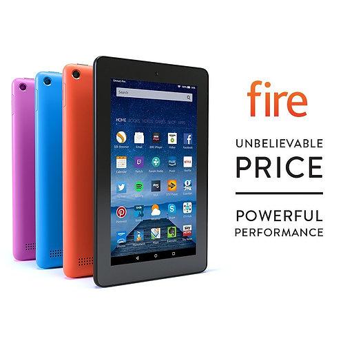 """Amzon Kindle Fire Tablet 7"""" Display Wi-Fi 8GB / 16GB Black / Blue / Purple"""