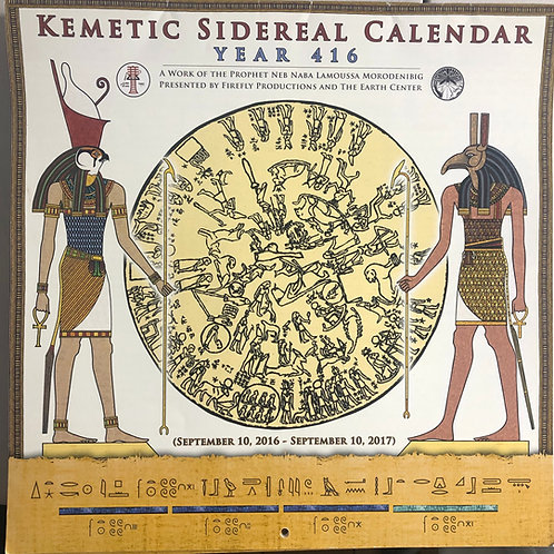 Kemetic Sidereal Calendar 416