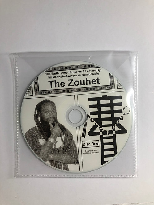 The Zouhet Lecture CD