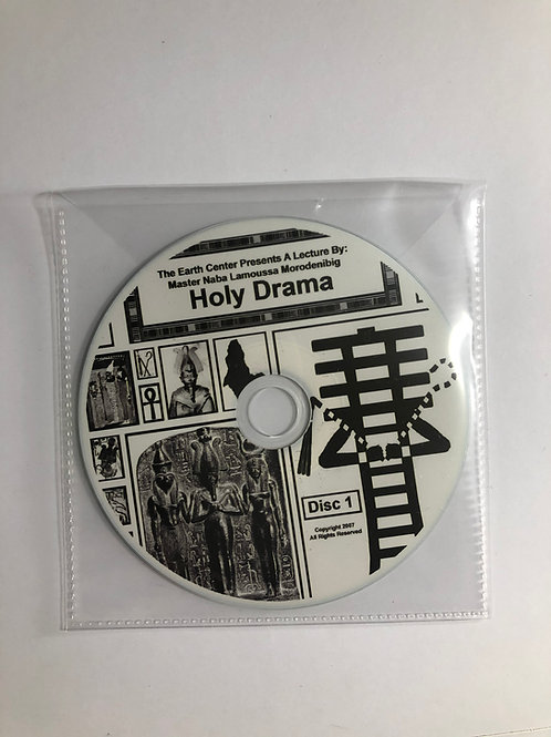The Holy Drama Lecture CD