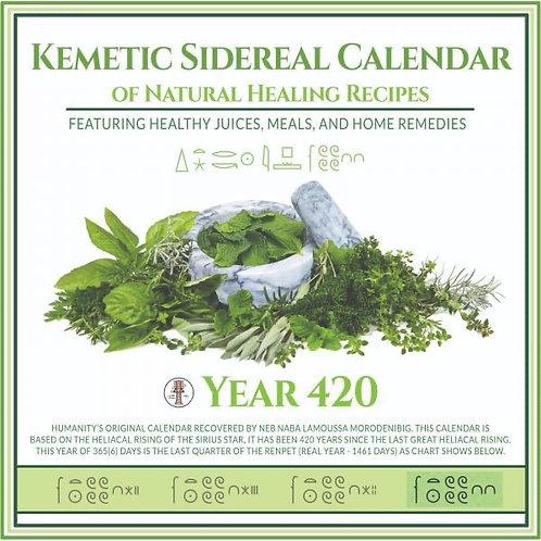 Year 420 Kemetic Sidereal Calendar