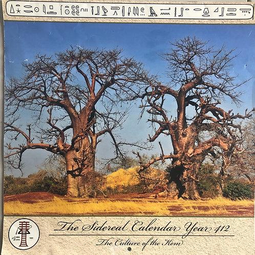 Sidereal Calendar 412
