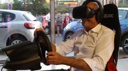 Simulateur auto VR 5 web