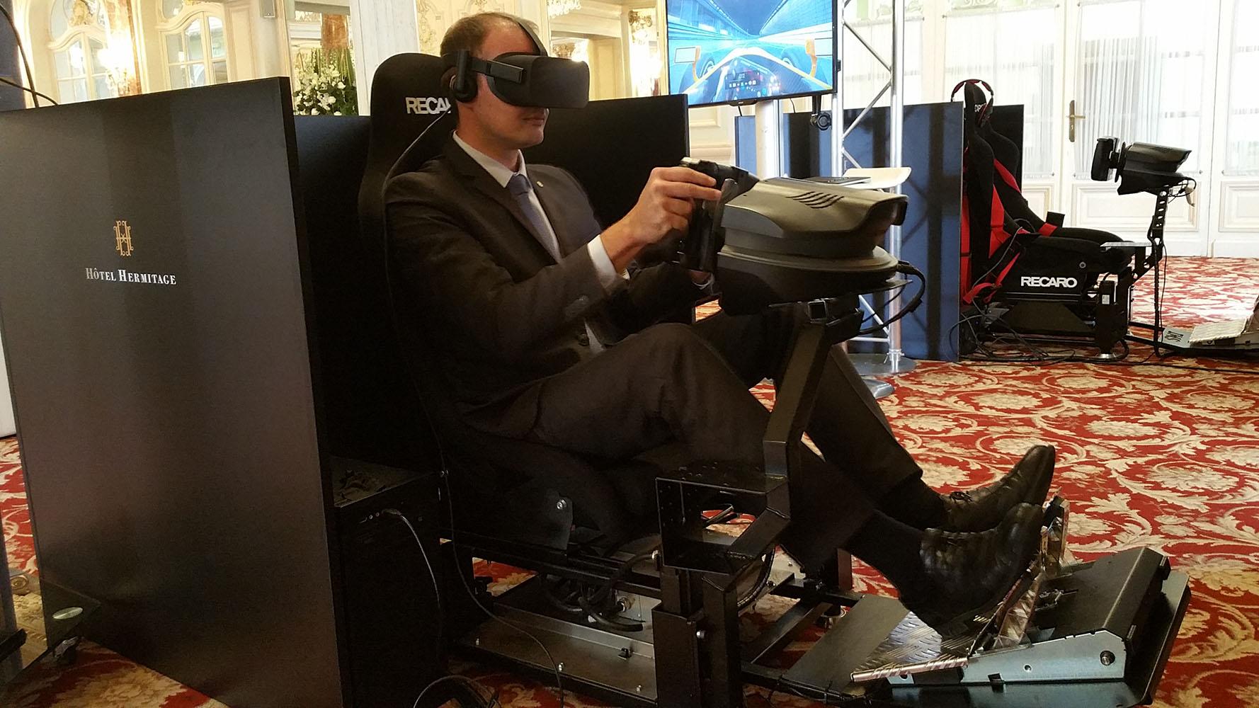 Simulateur auto VR 4 web