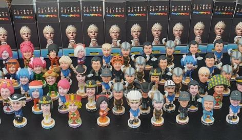 """mini figurines """"Bobbles"""""""
