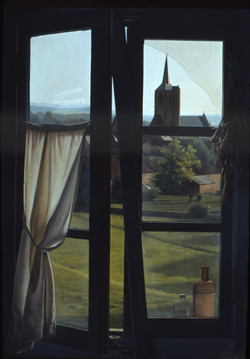 Fenêtre aux flacons