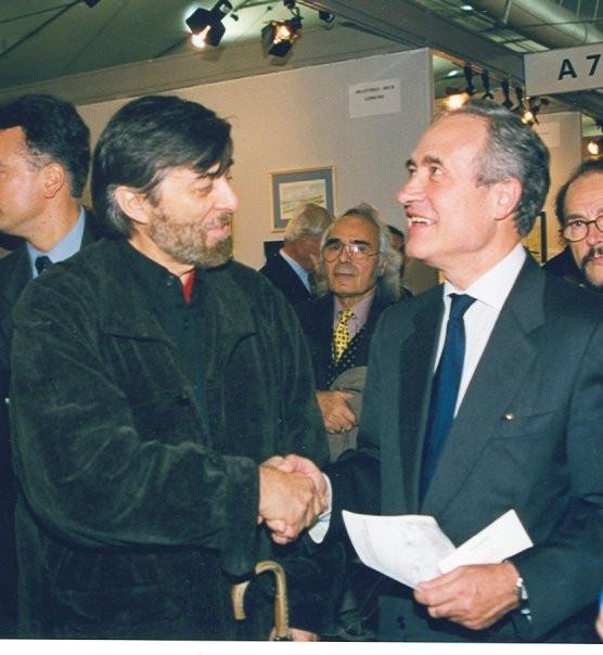 Gilou et Jean Tiberi