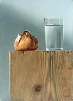 Petit pain au verre d'eau