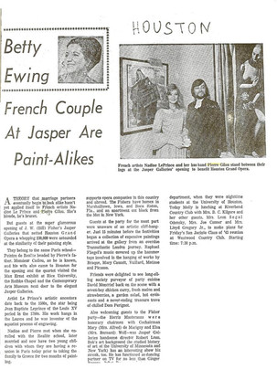 Article Jasper Galleries (Houston)