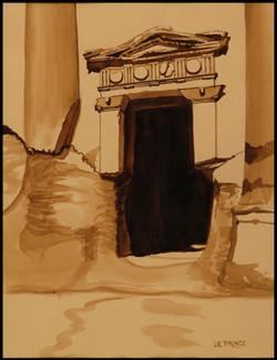 La porte. The door.