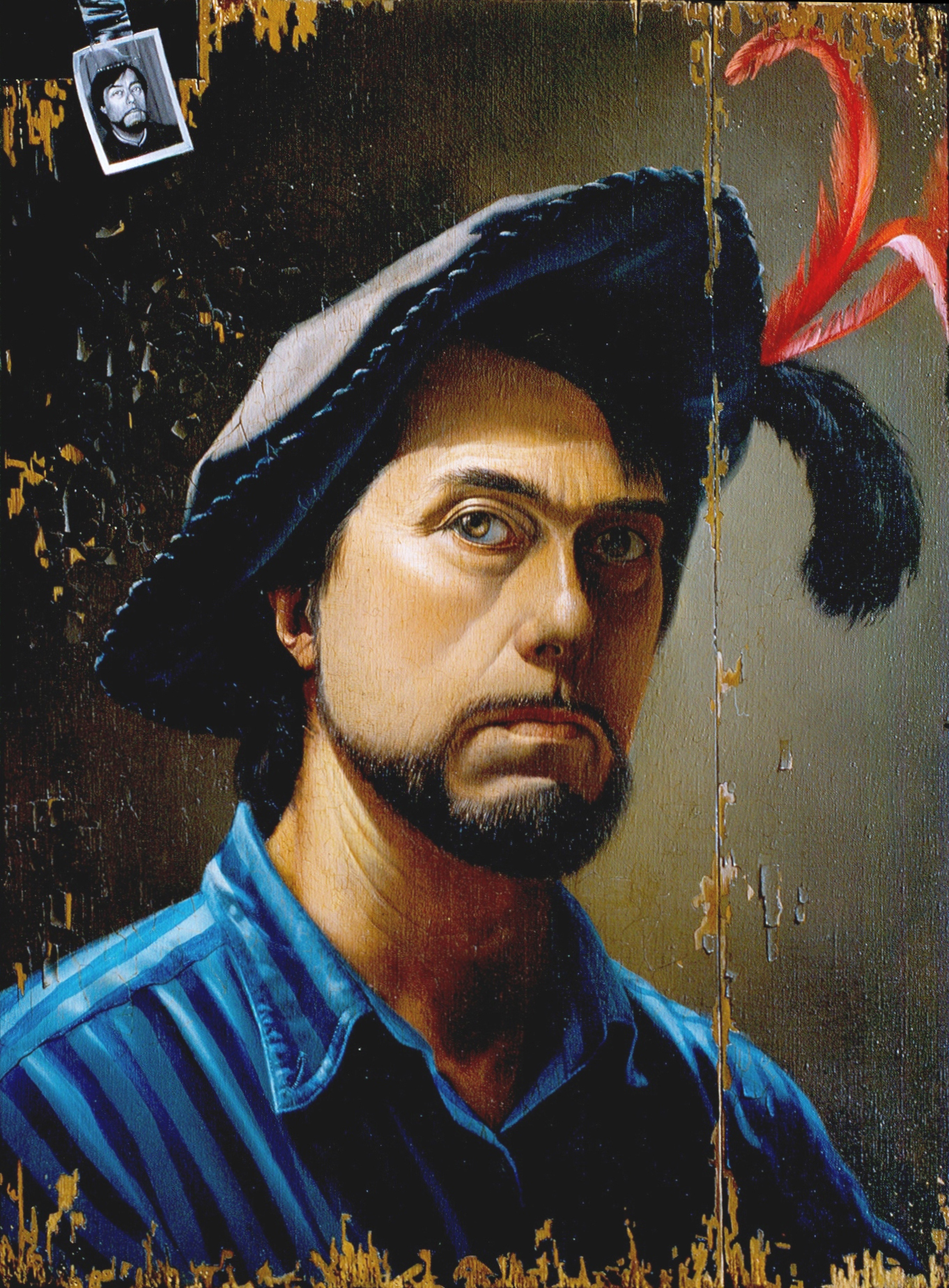 Gilou,  Autoportrait 1992 - 55x46