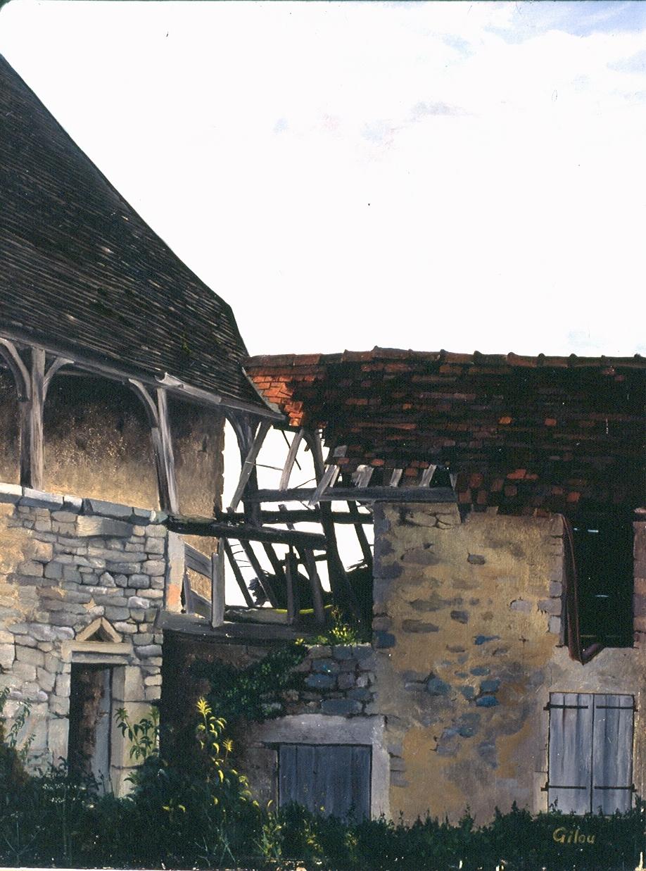 Gilou, Commagny maisons anciennes 1962