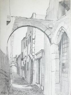 Gilou, Rue à Rhodes