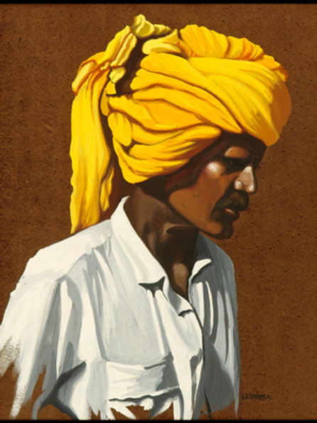 L'homme au turban d'or - The man with a golded turban