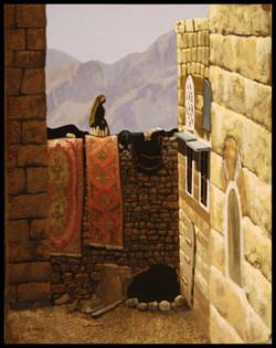 La terrasse, the terrace, Jordanie