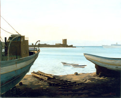 Gilou, Rhodes le port