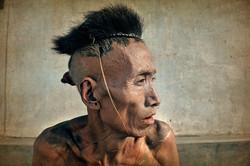 Le passeur. Naga Birman passeur d'opium.