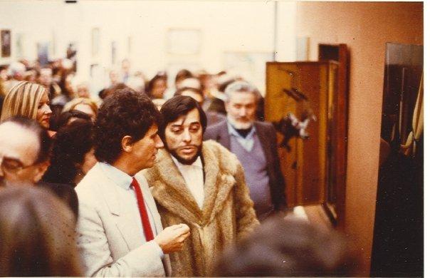 Gilou & Jacques Lang au Grand-Palais
