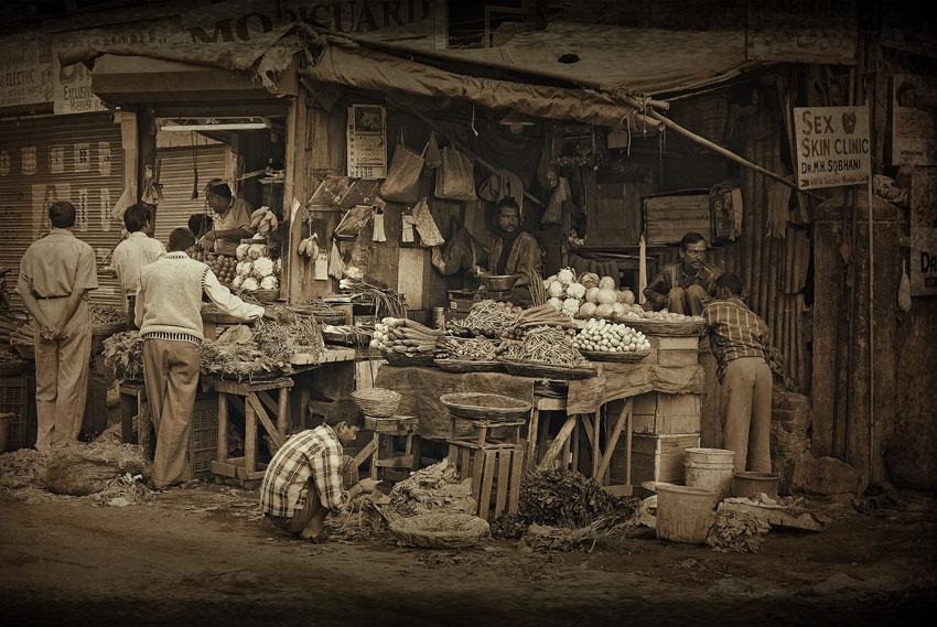 Epicier de Mumbai