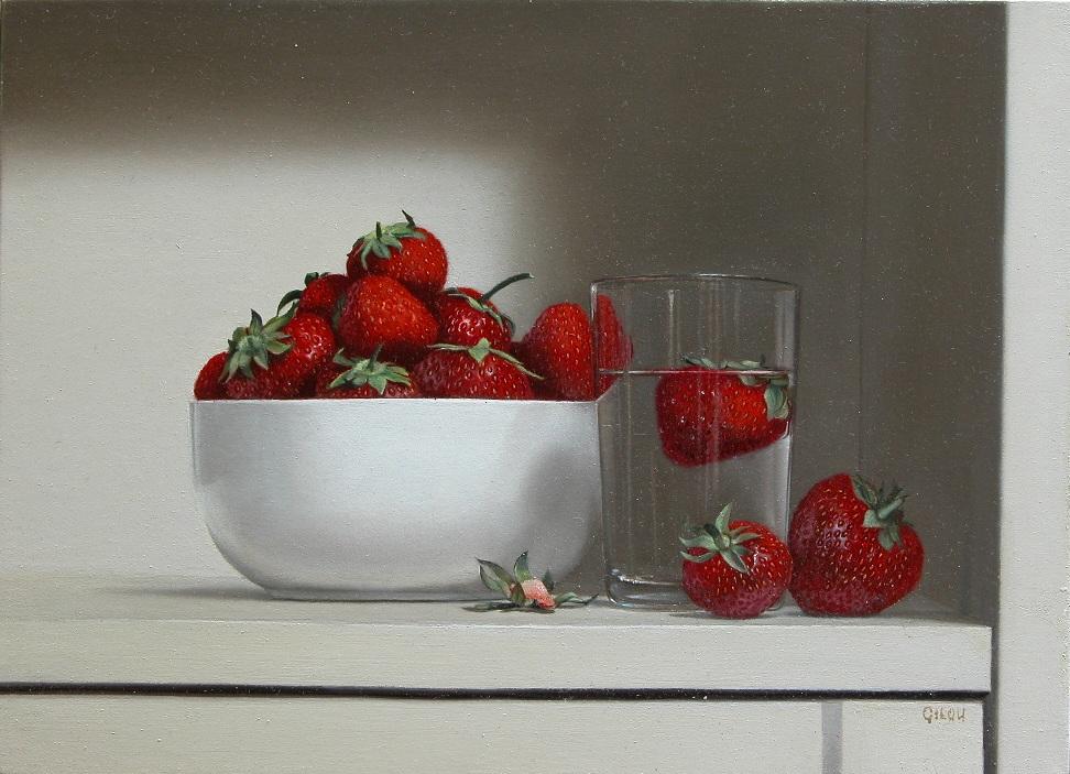Gilou, Bol aux fraises