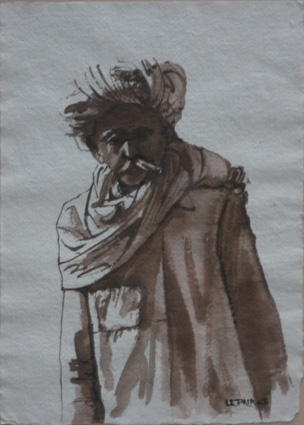 Paysan Rajput. Rajput farmer.