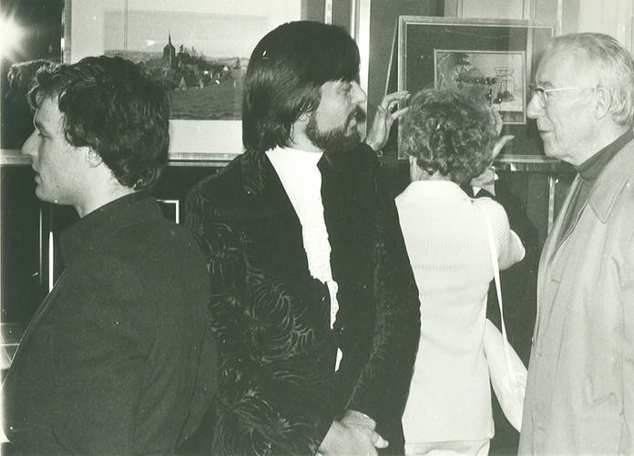 Claude Goga, Gilou et Marc Havel